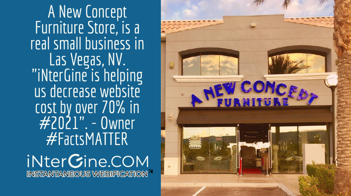 Professional Website from iNterGine actually saved small business during covid.